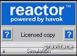 Gravitace - reaktor