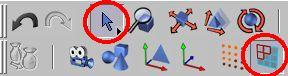 Zapneme výběr tažením a editaci polygonů