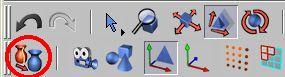Převedeme objekt potažení NURBS na editovatelný
