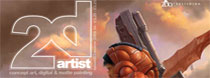 2d artist magazín