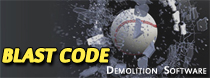 BLAST CODE Demoliton Software