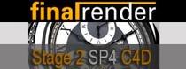 finalRender Stage-2 SP4 pre C4D