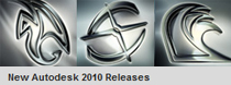 Autodesk 2010 3D animation product releases