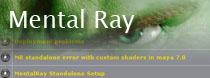 Vše o Mental Ray