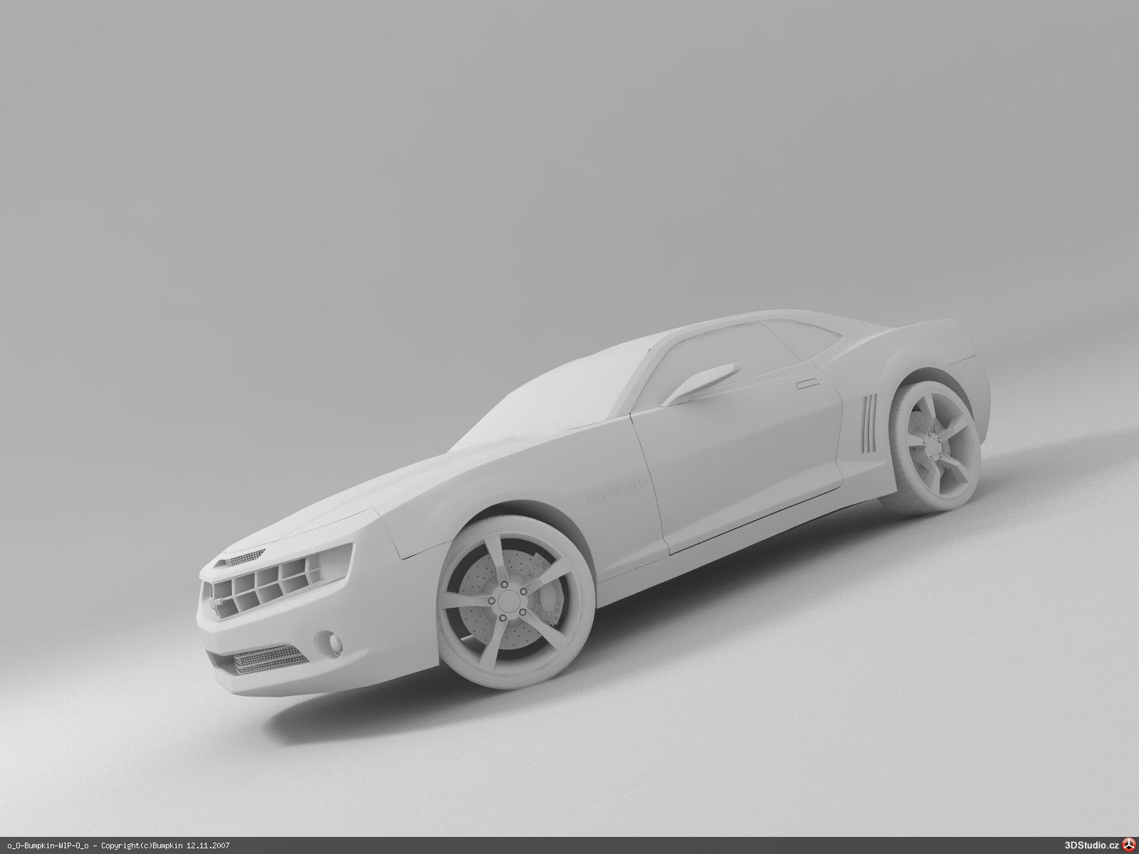 Chevrolet camaro concept in blender smcars car blueprints forum render in vray malvernweather Image collections